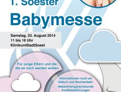 1. Soester Babymesse am 23. August