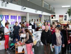 Großer Andrang bei 1. Soester Babymesse